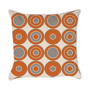 mod circle pillow cover