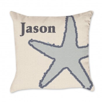 name pillow cover