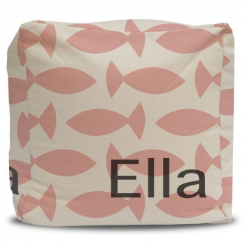 Personalized Pouf and Cover