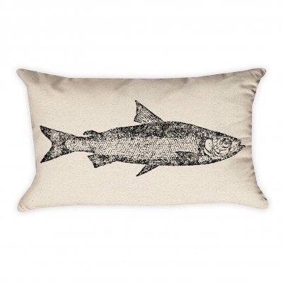 Fish Pillow Cover
