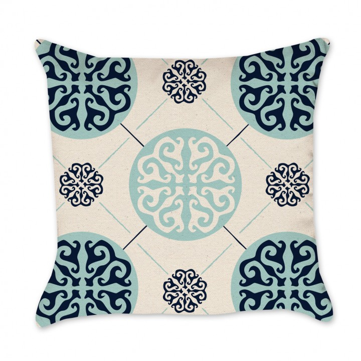 Medallion Pillow Cover