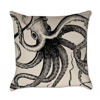Octopus Pillow Cover
