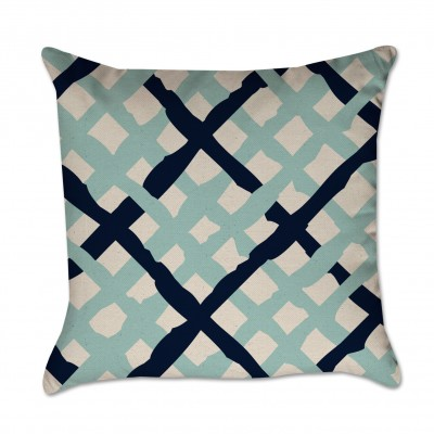Criss Cross Pillow Cover