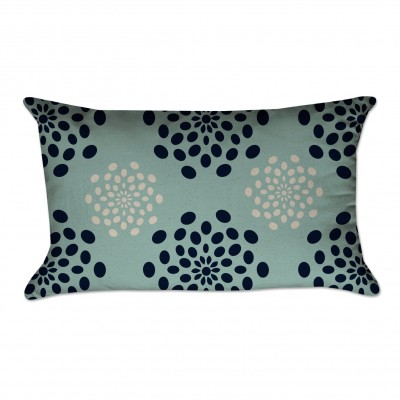 Flower Medallion Pillow Cover
