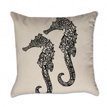 Seahorse Pillow Cover