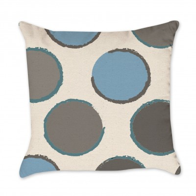 polka mod pillow cover