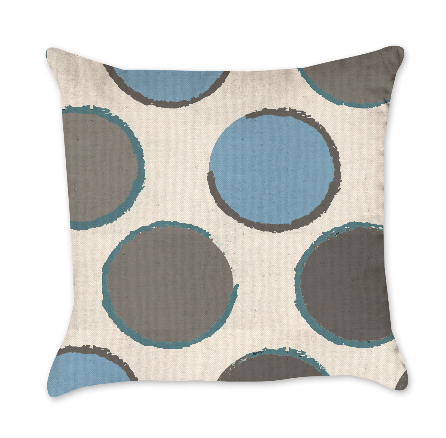 teal pillowcase colored pillow blue spa linen wholesale pin light solid pillows