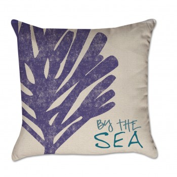 purple pillow cover