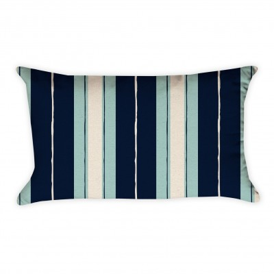 rectangle striped pillow cover