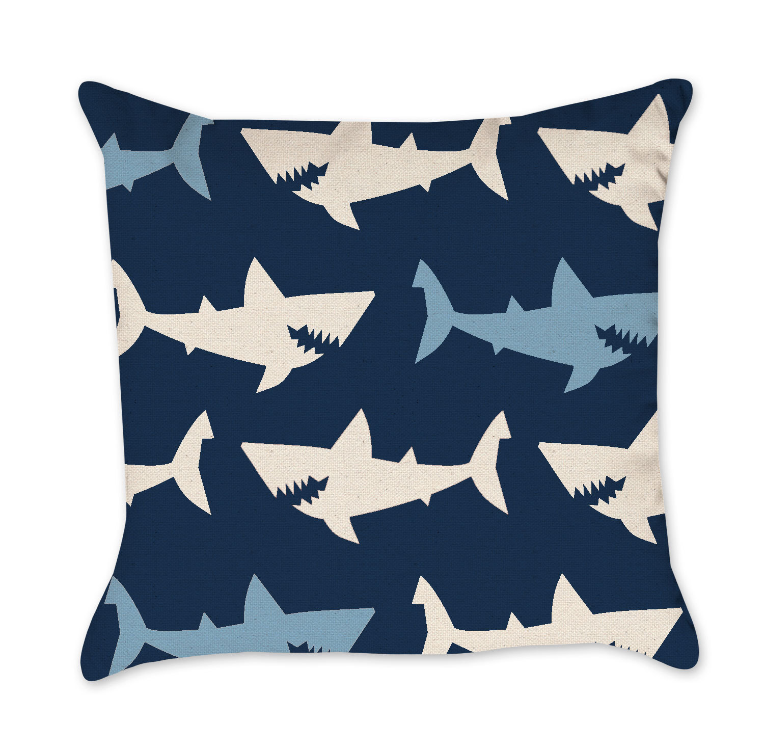 Shark Pillow That Eats You kid's pillows- project cottage
