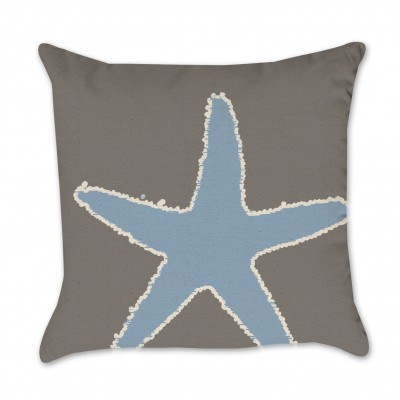 starfish pillow cover cotton