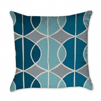 swirl pillow cover