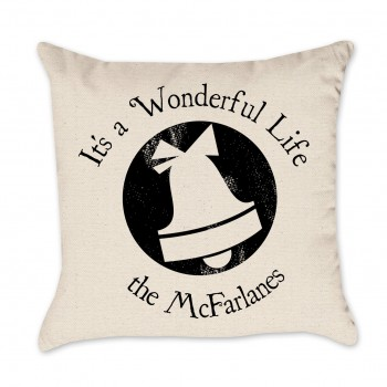 wonderful life pillow cover