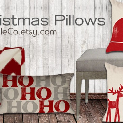 PC xmas pillow cover