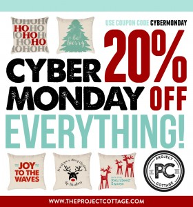 Cyber Monday - 20% Off Everything!