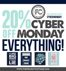 Use coupon code CYBERMONDAY at checkout