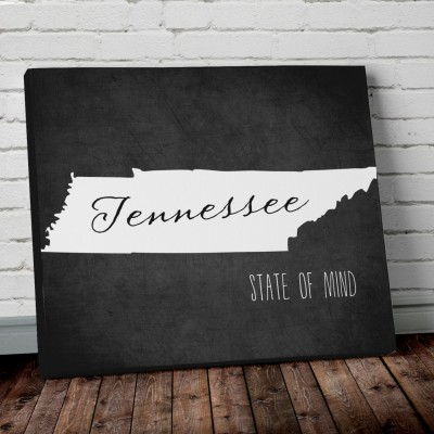 Tennessee Print Wall Art 2