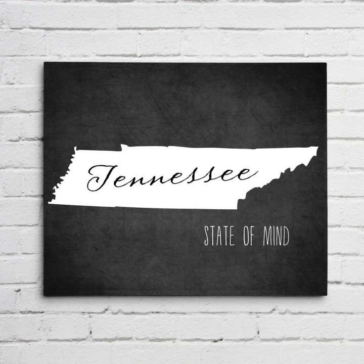 Tennessee Print Wall Art