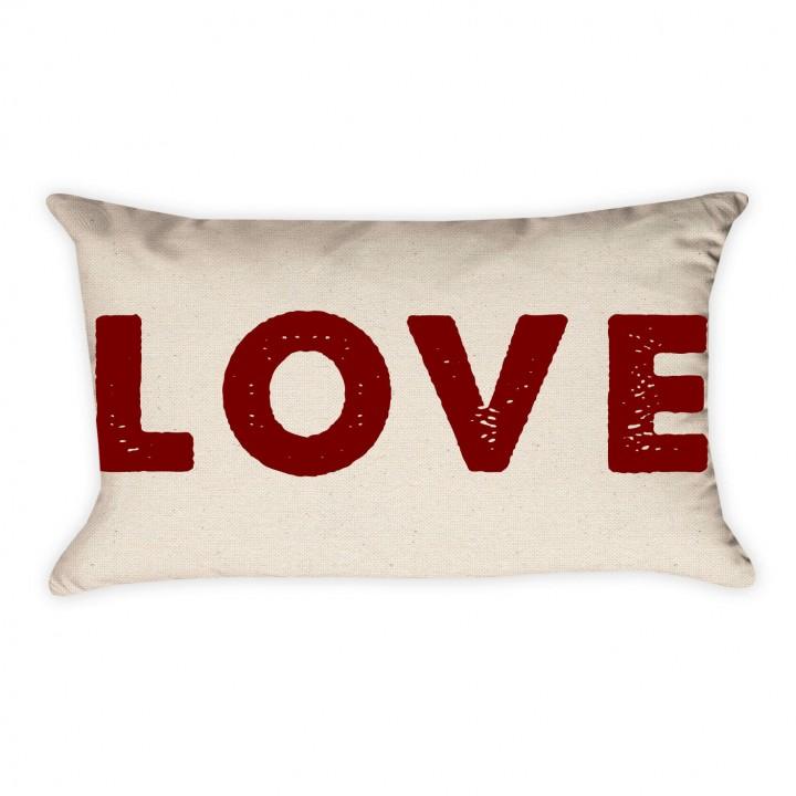LOVE Valentine Pillow Cover