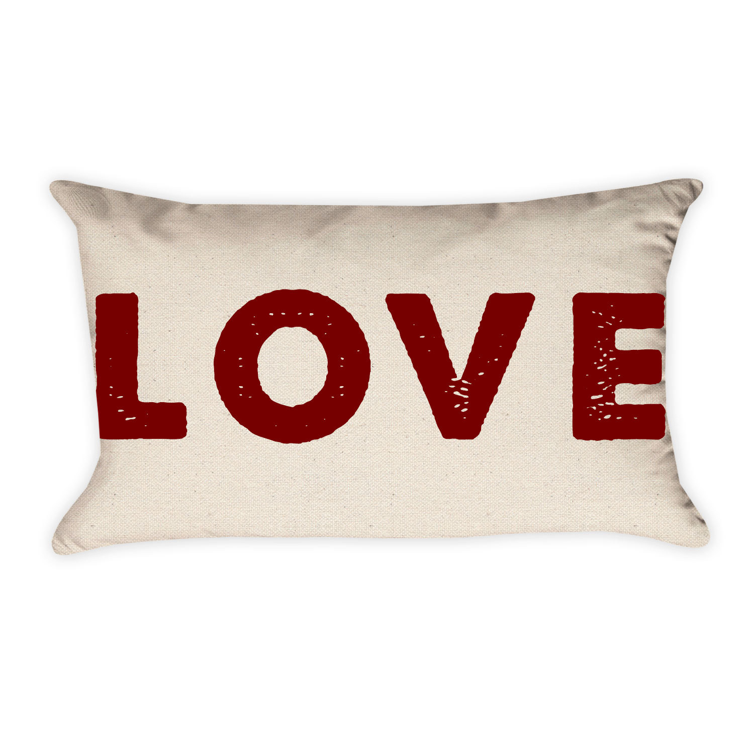 love valentine pillow cover