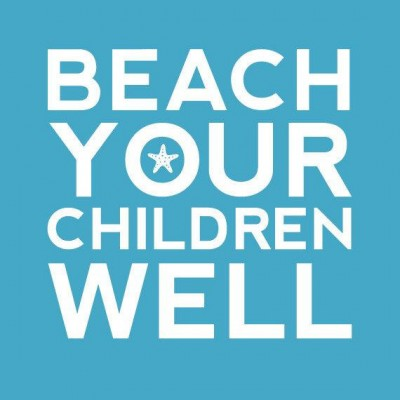 Beach Your Children nursery art print