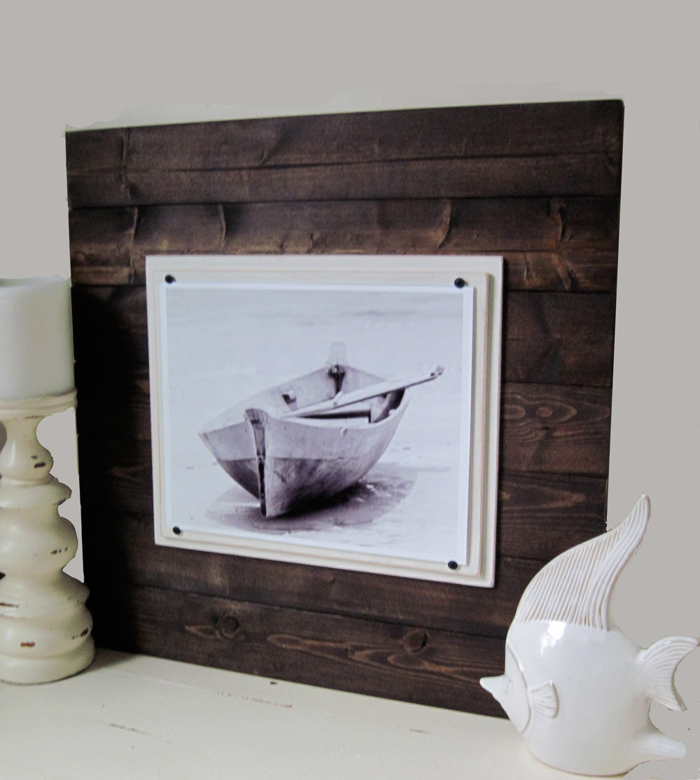 Plank frames project cottage 1114 big dark wood plank frame 2x2 jeuxipadfo Images