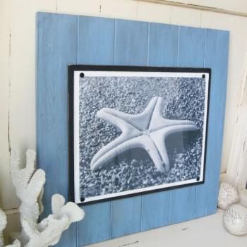 Blue Plank Frame