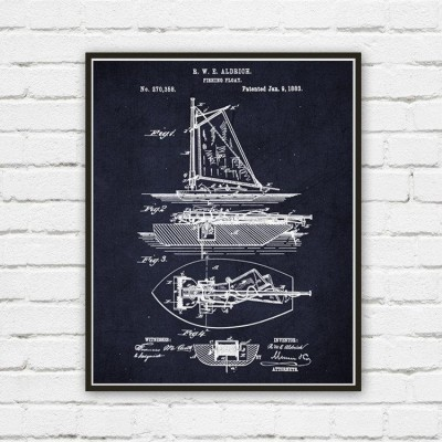 Fishing Boat wall art