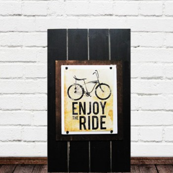Large 14x24 Frame for 8x10 Bike Print