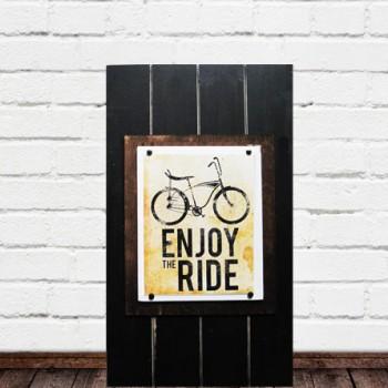 Large 14x24 Frame for 8x10 Bike Print