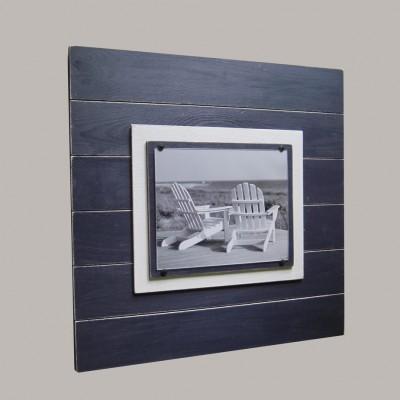 Plank Frame navy blue