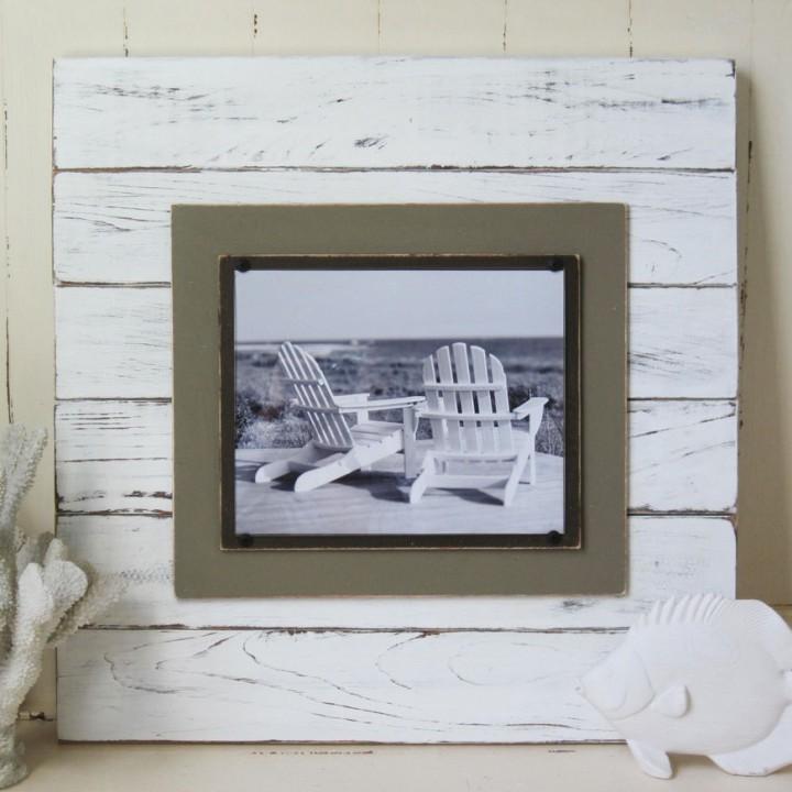 Plank Frame white