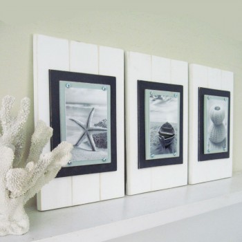 Plank Frames in White