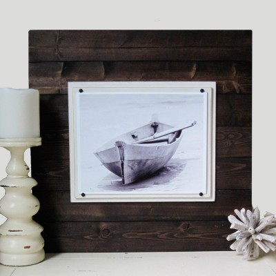Wood Plank Frame