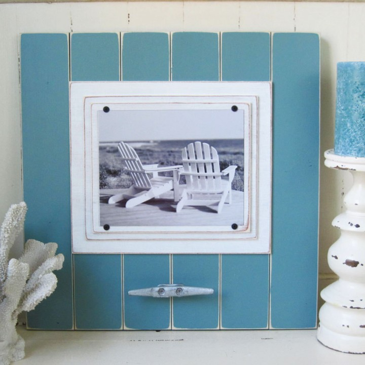 Xtra Large Turquoise Cleat Frame for 8×10