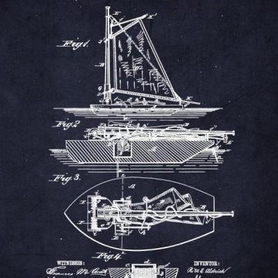 aldrich patent art