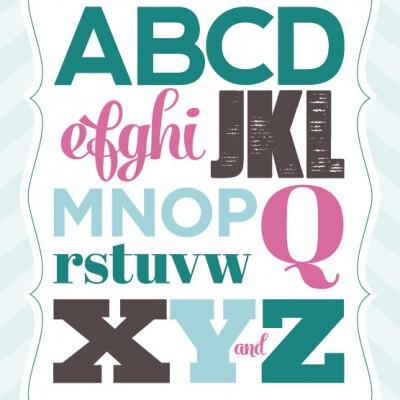 alphabet_pink_teal1