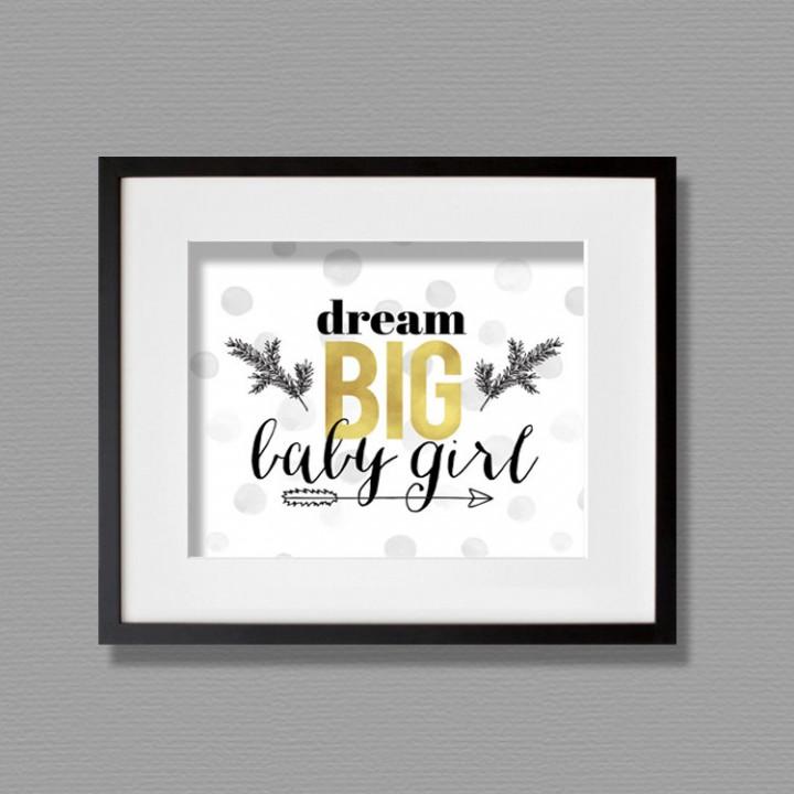 baby girl art