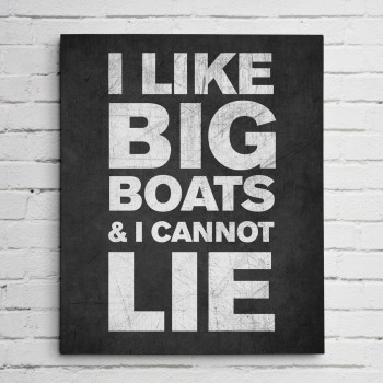 big boats black print