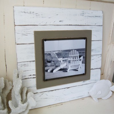 big distressed Plank Frame