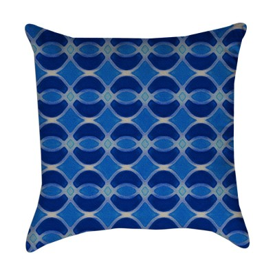 cobalt blue pillow cover