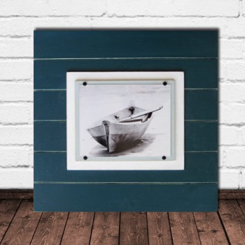 deep teal frame