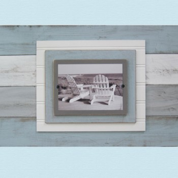 distressed plank frame