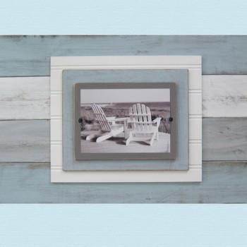 distressed plank frame