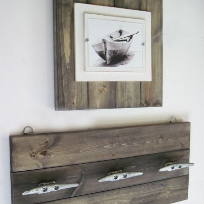 driftwood cleat frame