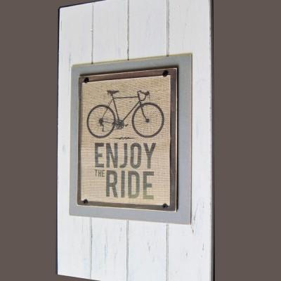 enjoy the ride plank