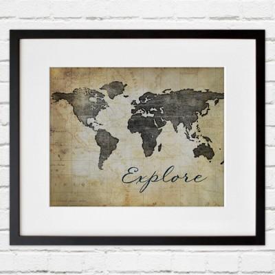 explore black frame