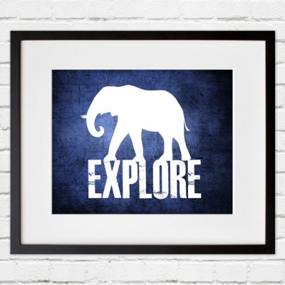 explore blue print