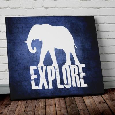 explore elephant print