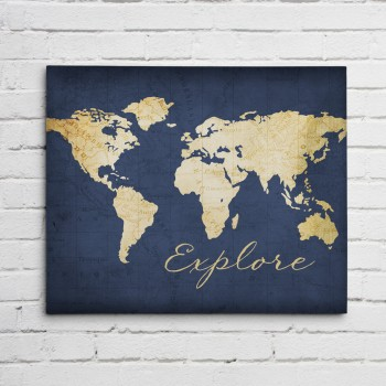 explore gold with navy